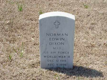 DIXON (VETERAN WWII), NORMAN EDWIN - Pulaski County, Arkansas | NORMAN EDWIN DIXON (VETERAN WWII) - Arkansas Gravestone Photos