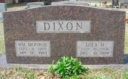 DIXON, WILLIAM MONROE - Pulaski County, Arkansas | WILLIAM MONROE DIXON - Arkansas Gravestone Photos
