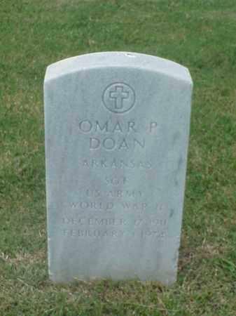 DOAN (VETERAN WWII), OMAR P - Pulaski County, Arkansas | OMAR P DOAN (VETERAN WWII) - Arkansas Gravestone Photos