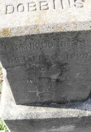 DOBBINS, FRANK - Pulaski County, Arkansas | FRANK DOBBINS - Arkansas Gravestone Photos