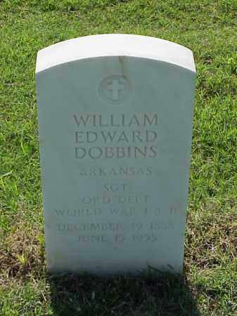 DOBBINS (VETERAN 2 WARS), WILLIAM EDWARD - Pulaski County, Arkansas | WILLIAM EDWARD DOBBINS (VETERAN 2 WARS) - Arkansas Gravestone Photos