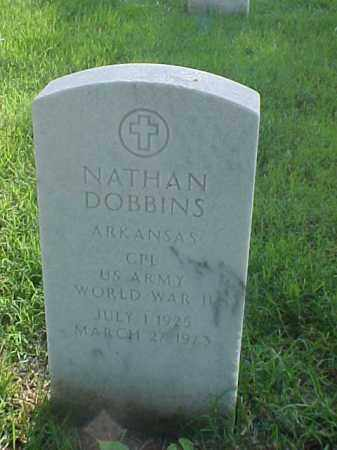 DOBBINS (VETERAN WWII), NATHAN - Pulaski County, Arkansas | NATHAN DOBBINS (VETERAN WWII) - Arkansas Gravestone Photos