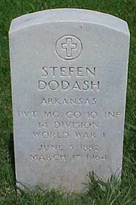 DODASH (VETERAN WWI), STEFEN - Pulaski County, Arkansas | STEFEN DODASH (VETERAN WWI) - Arkansas Gravestone Photos