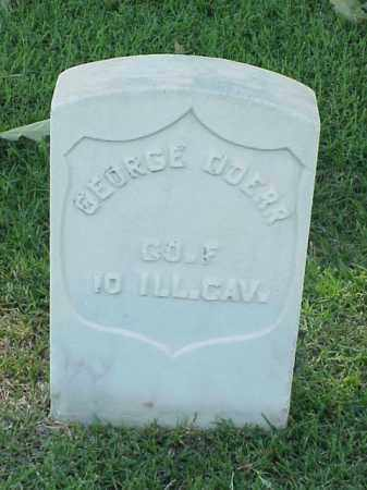 DOERR (VETERAN UNION), GEORGE - Pulaski County, Arkansas | GEORGE DOERR (VETERAN UNION) - Arkansas Gravestone Photos