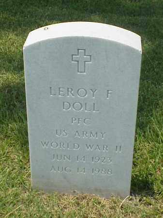 DOLL (VETERAN WWII), LEROY F - Pulaski County, Arkansas | LEROY F DOLL (VETERAN WWII) - Arkansas Gravestone Photos