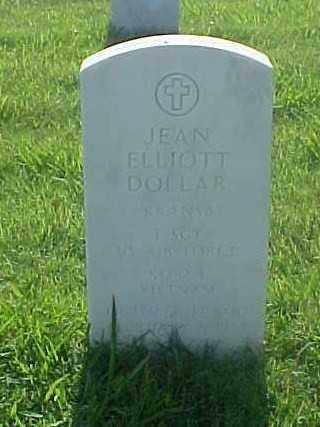 DOLLAR (VETERAN VIET), JEAN ELLIOTT - Pulaski County, Arkansas | JEAN ELLIOTT DOLLAR (VETERAN VIET) - Arkansas Gravestone Photos