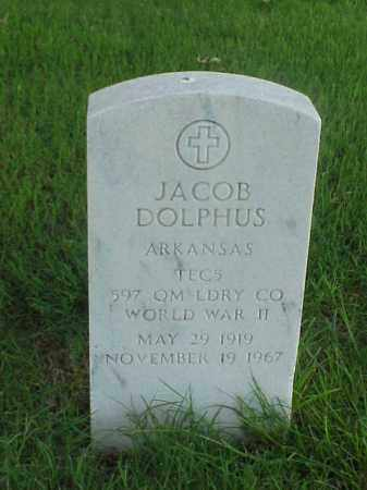 DOLPHUS (VETERAN WWII), JACOB - Pulaski County, Arkansas | JACOB DOLPHUS (VETERAN WWII) - Arkansas Gravestone Photos