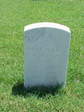 DONAHUE (VETERAN WWII), WOODROW L - Pulaski County, Arkansas | WOODROW L DONAHUE (VETERAN WWII) - Arkansas Gravestone Photos