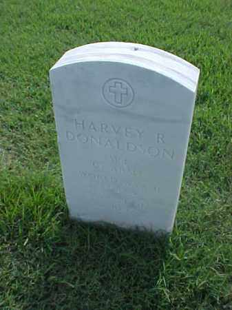 DONALDSON (VETERAN WWII), HARVEY R - Pulaski County, Arkansas | HARVEY R DONALDSON (VETERAN WWII) - Arkansas Gravestone Photos