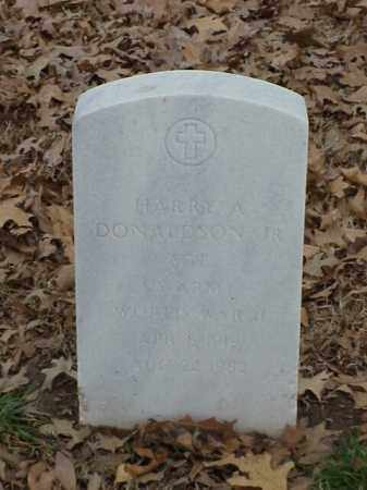 DONALDSON,  JR (VETERAN WWII), HARRY A - Pulaski County, Arkansas | HARRY A DONALDSON,  JR (VETERAN WWII) - Arkansas Gravestone Photos