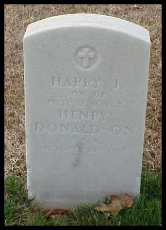 DONALDSON, HARRY J - Pulaski County, Arkansas | HARRY J DONALDSON - Arkansas Gravestone Photos