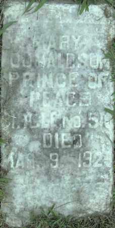 DONALDSON, MARY - Pulaski County, Arkansas   MARY DONALDSON - Arkansas Gravestone Photos