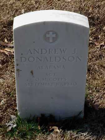 DONALDSON (VETERAN WWI), ANDREW J - Pulaski County, Arkansas | ANDREW J DONALDSON (VETERAN WWI) - Arkansas Gravestone Photos