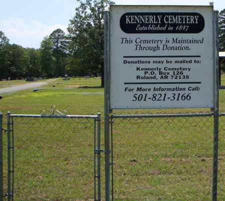 *DONATIONS AND CONTACT SIGN, KENNERLY - Pulaski County, Arkansas | KENNERLY *DONATIONS AND CONTACT SIGN - Arkansas Gravestone Photos
