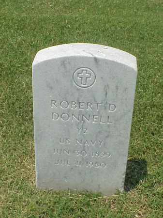 DONNELL (VETERAN), ROBERT D - Pulaski County, Arkansas | ROBERT D DONNELL (VETERAN) - Arkansas Gravestone Photos