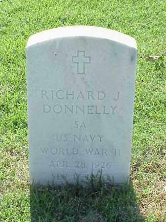 DONNELLY (VETERAN WWII), RICHARD J - Pulaski County, Arkansas | RICHARD J DONNELLY (VETERAN WWII) - Arkansas Gravestone Photos