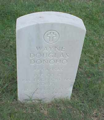 DONOHO (VETERAN KOR), WAYNE DOUGLAS - Pulaski County, Arkansas | WAYNE DOUGLAS DONOHO (VETERAN KOR) - Arkansas Gravestone Photos