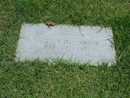 DONOHOE (VETERAN WWII), HUGH J - Pulaski County, Arkansas | HUGH J DONOHOE (VETERAN WWII) - Arkansas Gravestone Photos