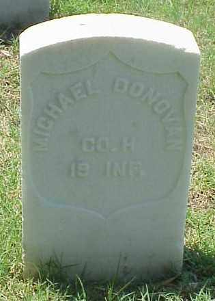 DONOVAN (VETERAN UNION), MICHAEL - Pulaski County, Arkansas | MICHAEL DONOVAN (VETERAN UNION) - Arkansas Gravestone Photos