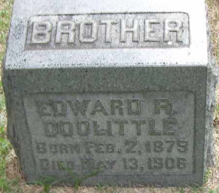 DOOLITTLE, EDWARD R. - Pulaski County, Arkansas | EDWARD R. DOOLITTLE - Arkansas Gravestone Photos