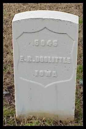 DOOLITTLE (VETERAN UNION), EDWARD R - Pulaski County, Arkansas | EDWARD R DOOLITTLE (VETERAN UNION) - Arkansas Gravestone Photos