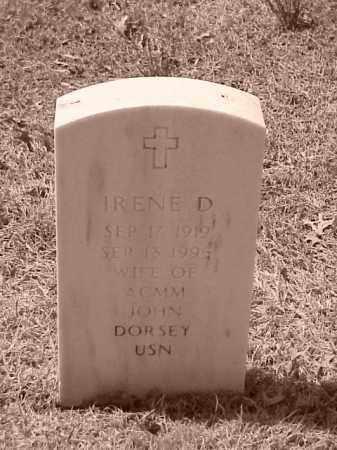 DORSEY, IRENE D - Pulaski County, Arkansas | IRENE D DORSEY - Arkansas Gravestone Photos