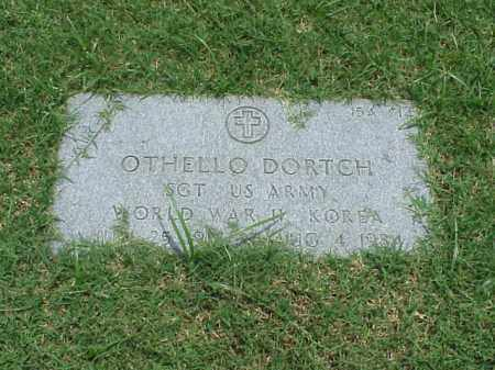 DORTCH (VETERAN 2 WARS), OTHELLO - Pulaski County, Arkansas | OTHELLO DORTCH (VETERAN 2 WARS) - Arkansas Gravestone Photos