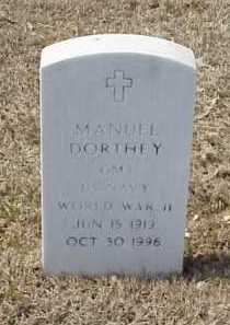 DORTHEY (VETERAN WWII), MANUEL - Pulaski County, Arkansas | MANUEL DORTHEY (VETERAN WWII) - Arkansas Gravestone Photos