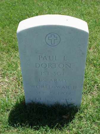 DORTON (VETERAN WWII), PAUL L - Pulaski County, Arkansas | PAUL L DORTON (VETERAN WWII) - Arkansas Gravestone Photos