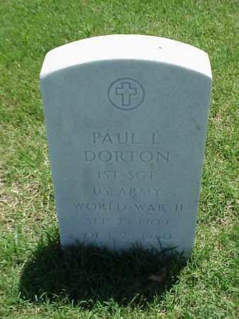 DORTON (VETERAN WWII), PAUL L - Pulaski County, Arkansas | PAUL L DORTON (VETERAN WWII) - Arkansas Gravestone Photos