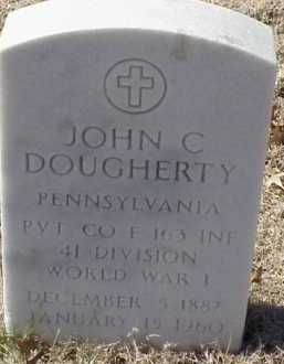 DOUGHERTY  (VETERAN WWI), JOHN C - Pulaski County, Arkansas | JOHN C DOUGHERTY  (VETERAN WWI) - Arkansas Gravestone Photos