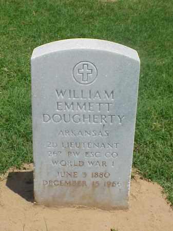 DOUGHERTY (VETERAN WWI), WILLIAM EMMETT - Pulaski County, Arkansas | WILLIAM EMMETT DOUGHERTY (VETERAN WWI) - Arkansas Gravestone Photos