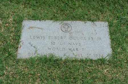 DOUGLAS, JR (VETERAN WWII), LEWIS ELBERT - Pulaski County, Arkansas | LEWIS ELBERT DOUGLAS, JR (VETERAN WWII) - Arkansas Gravestone Photos
