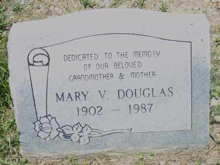 DOUGLAS, MARY V. - Pulaski County, Arkansas | MARY V. DOUGLAS - Arkansas Gravestone Photos