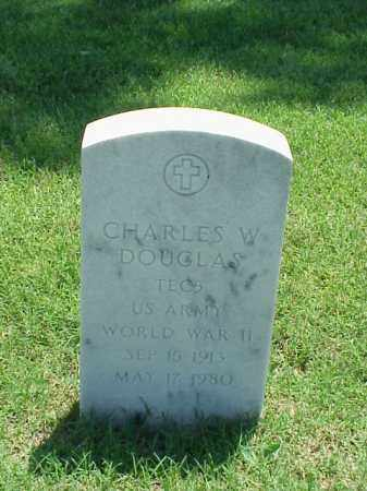 DOUGLAS (VETERAN WWII), CHARLES W - Pulaski County, Arkansas | CHARLES W DOUGLAS (VETERAN WWII) - Arkansas Gravestone Photos