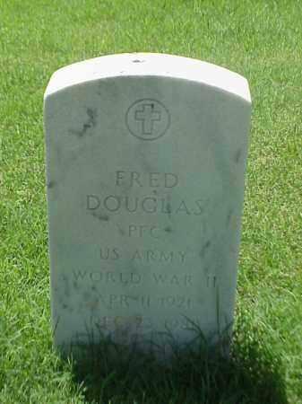 DOUGLAS (VETERAN WWII), FRED - Pulaski County, Arkansas | FRED DOUGLAS (VETERAN WWII) - Arkansas Gravestone Photos