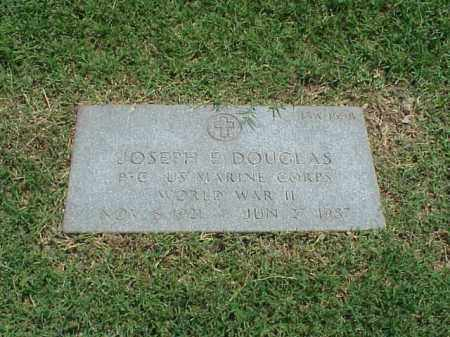 DOUGLAS (VETERAN WWII), JOSEPH E - Pulaski County, Arkansas | JOSEPH E DOUGLAS (VETERAN WWII) - Arkansas Gravestone Photos
