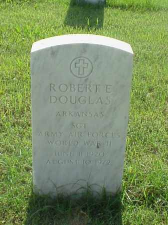 DOUGLAS (VETERAN WWII), ROBERT E - Pulaski County, Arkansas | ROBERT E DOUGLAS (VETERAN WWII) - Arkansas Gravestone Photos