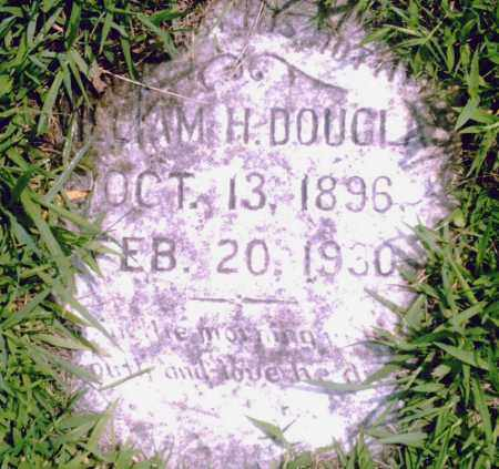 DOUGLAS, WILLIAM H. - Pulaski County, Arkansas | WILLIAM H. DOUGLAS - Arkansas Gravestone Photos