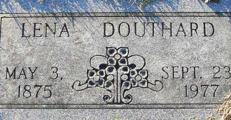 DOUTHARD, LENA - Pulaski County, Arkansas | LENA DOUTHARD - Arkansas Gravestone Photos