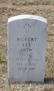 DOW (VETERAN), ROBERT LEE - Pulaski County, Arkansas | ROBERT LEE DOW (VETERAN) - Arkansas Gravestone Photos