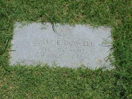 DOWELL (VETERAN WWII), JESSE E - Pulaski County, Arkansas | JESSE E DOWELL (VETERAN WWII) - Arkansas Gravestone Photos