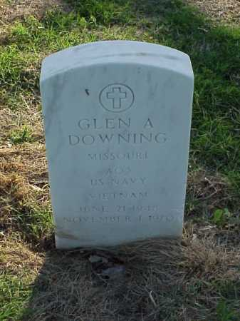 DOWNING (VETERAN VIET), GLEN A - Pulaski County, Arkansas | GLEN A DOWNING (VETERAN VIET) - Arkansas Gravestone Photos