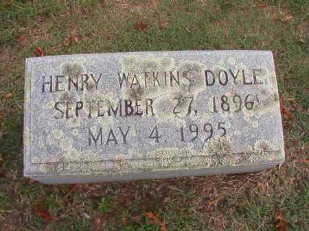 DOYLE, HENRY WATKINS - Pulaski County, Arkansas | HENRY WATKINS DOYLE - Arkansas Gravestone Photos