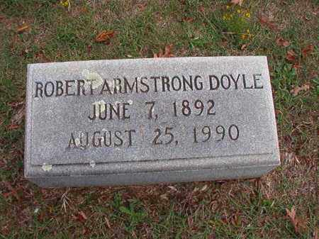 DOYLE, ROBERT ARMSTRONG - Pulaski County, Arkansas | ROBERT ARMSTRONG DOYLE - Arkansas Gravestone Photos