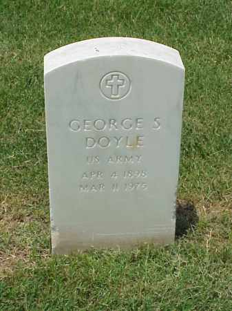 DOYLE (VETERAN WWII), GEORGE S - Pulaski County, Arkansas | GEORGE S DOYLE (VETERAN WWII) - Arkansas Gravestone Photos