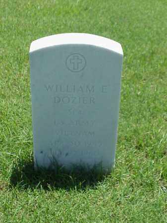 DOZIER (VETERAN VIET), WILLIAM E - Pulaski County, Arkansas | WILLIAM E DOZIER (VETERAN VIET) - Arkansas Gravestone Photos
