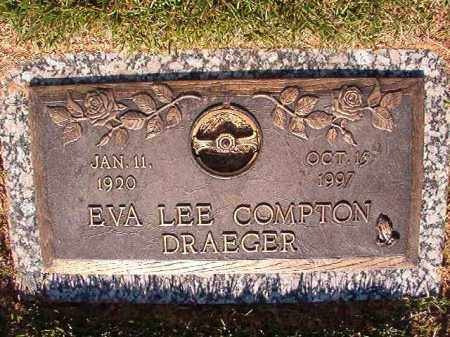 COMPTON DRAEGER, EVA LEE - Pulaski County, Arkansas | EVA LEE COMPTON DRAEGER - Arkansas Gravestone Photos