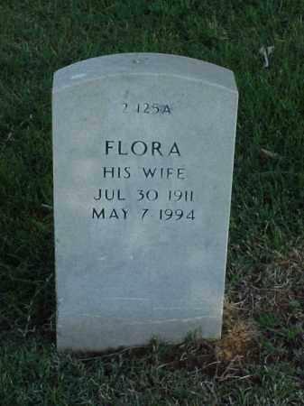 DRAFFEN, FLORA - Pulaski County, Arkansas | FLORA DRAFFEN - Arkansas Gravestone Photos