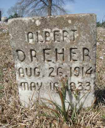 DREHER, ALBERT - Pulaski County, Arkansas | ALBERT DREHER - Arkansas Gravestone Photos